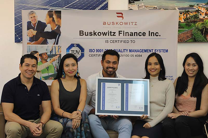 Buskowitz Now ISO Certified for Quality Management Systems