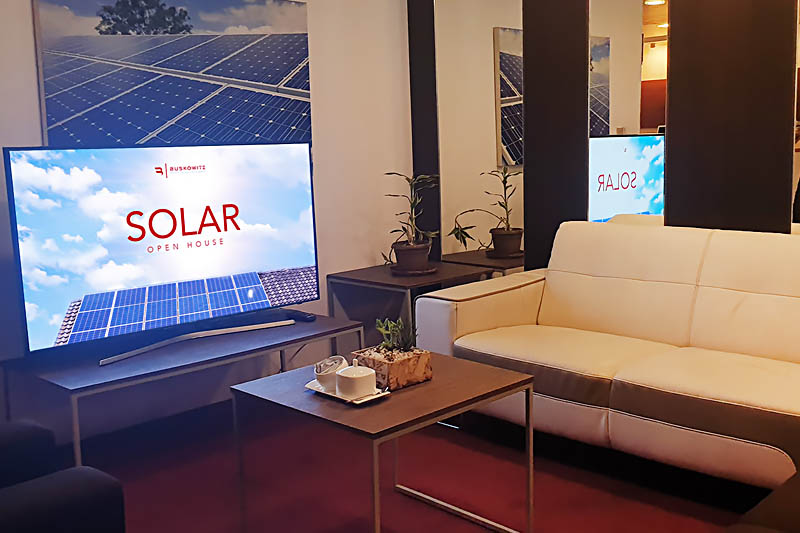 Buskowitz Group Opens Its Doors for a Solar Open House