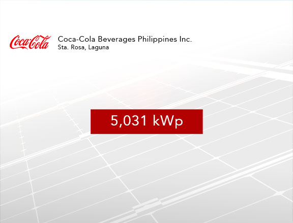 Coca-Cola Beverages Philippines Inc. – Sta. Rosa
