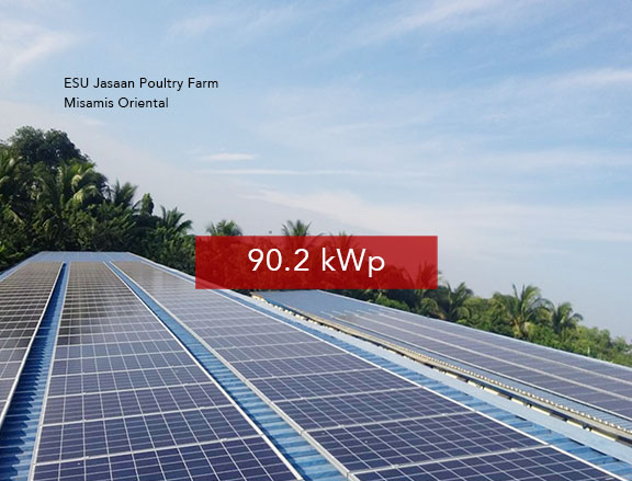 Rooftop Solar Panel Installation ESU Jasaan Poultry Farm