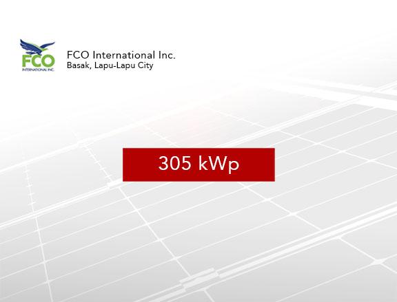FCO International Inc. – Phase 1