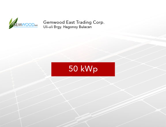 Gemwood East Trading Corp.