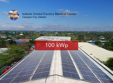Rooftop Solar Panel Installation Isabela United Doctors Medical Center