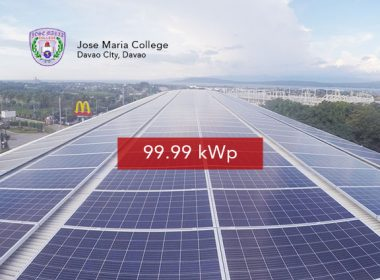 Rooftop Solar Panel Installation Jose Maria College