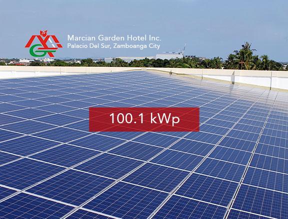 Marcian Garden Hotel Inc.