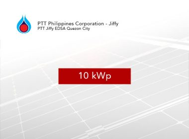 Rooftop Solar Panel Installation PTT Philippines Corporation - Jiffy