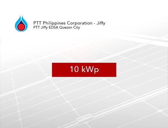 Rooftop Solar Panel Installation PTT Philippines Corporation - Jiffy