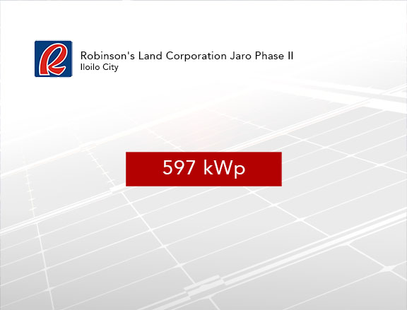 Robinson's Land Corporation Jaro Phase II
