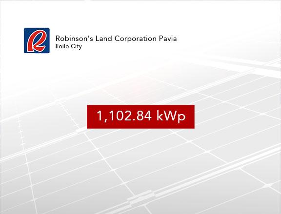 Rooftop Solar Panel Installation Robinson's Land Corporation Pavia