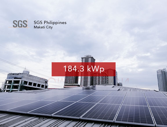 Rooftop Solar Panel Installation SGS Philippines
