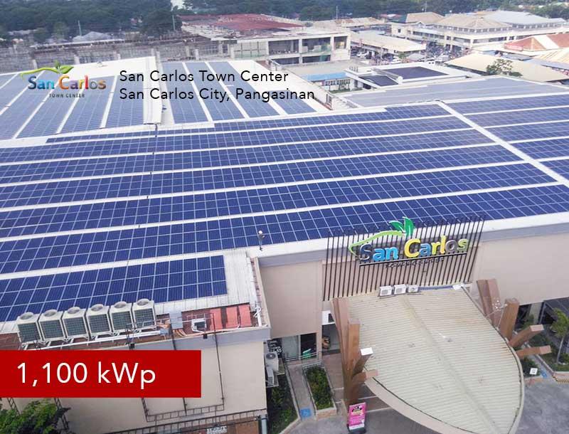 Rooftop Solar Panel Installation San Carlos Town Center