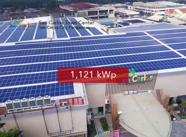 Solar Rooftop Panels - San Carlos Town Center