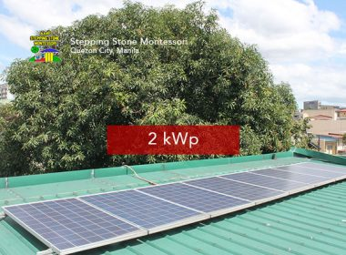 Rooftop Solar Panel Installation Stepping Stone Montessori
