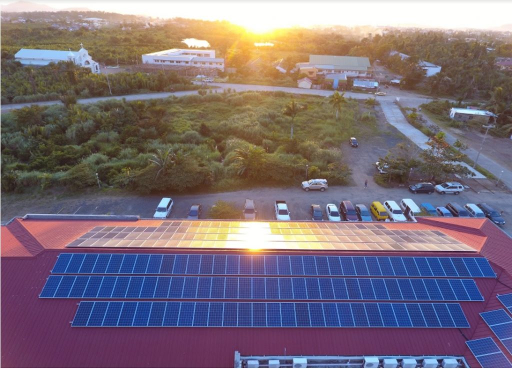 Sun over Health Centrum Hospital - Buskowitz Energy