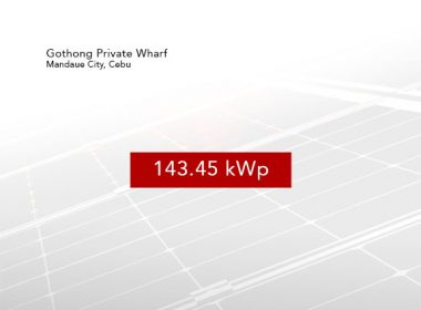 Rooftop Solar Panel Installation - Gothong Private Wharf