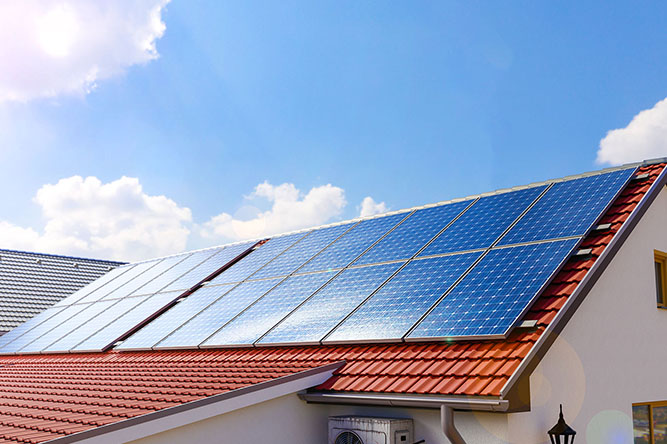the right solar panels
